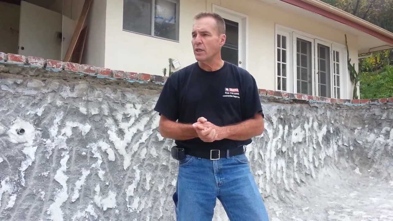 How To Plaster A Swimming Pool Full Explanation Youtube