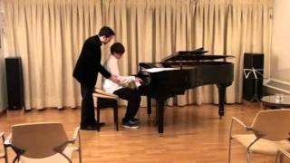 Clase magistral de piano - Lluís Rodríguez Salvà