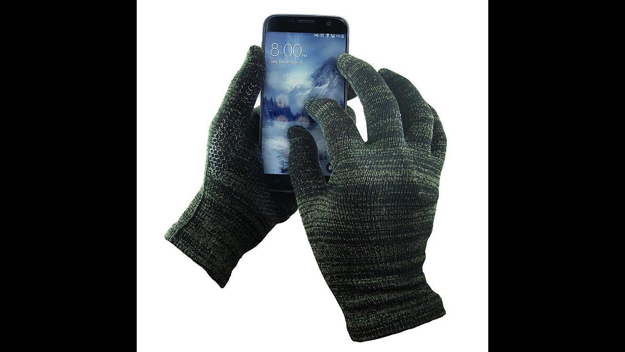 e31a195cfa GliderGlove Copper Infused Touch Screen Gloves - YouTube