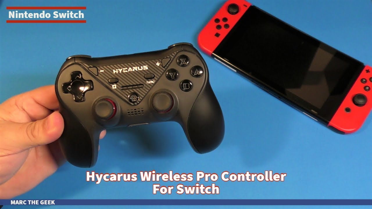 Hycarus Wireless Pro Controller For Nintendo Switch