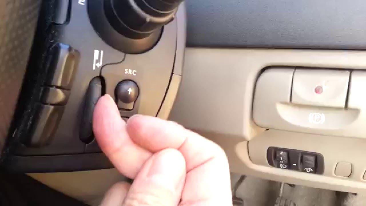 Renault Modus Radio Anleitung