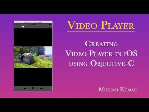 How to create Video Player in Objective-C ? - YouTube