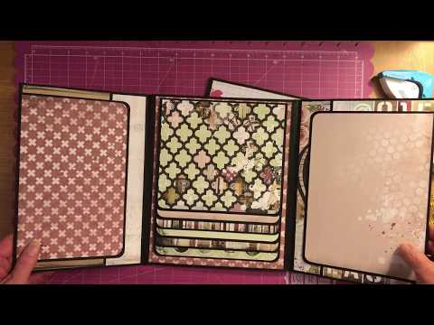 How To tutorial To Make My All Occasion Mini Photo Album Part 1