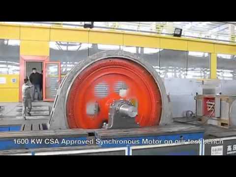1600kw Synchronous motor