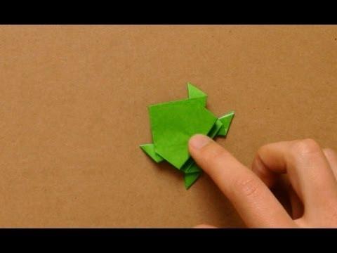 カエル 折り紙 に対する画像結果