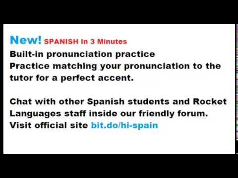 spanish sentences - YouTube