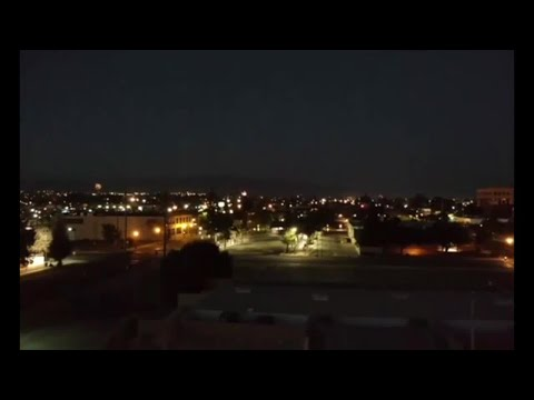 Drone Video from 4th of July 2017 overlooking Bakersfield, CA