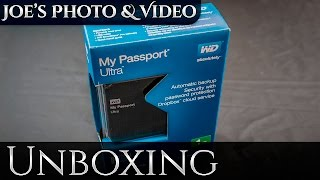 WD My Passport Ultra USB HDD | Unboxing & Benchmarks