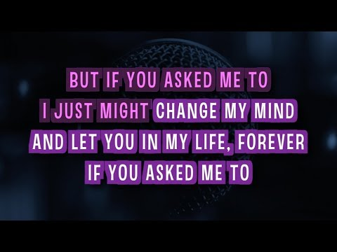 If You Asked Me To Karaoke Version by Celine Dion (Video with Lyrics)