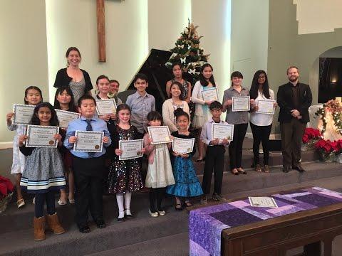 The Hunter School of Music Winter Recital 12.4.16