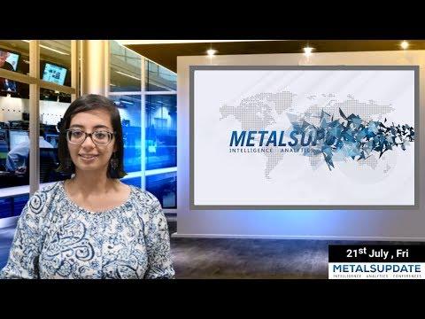 Daily Metals- Iron,Steel,Copper,Aluminium,Zinc,Nickel-Prices,News,Analysis & Forecast - 21/07/2017.