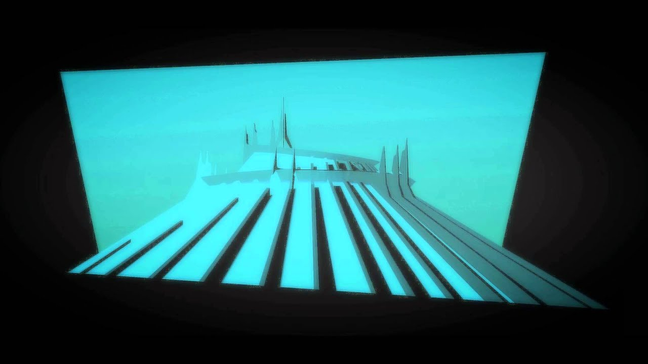 """Space Mountain Star Tunnel Music comparison to """"We've Come ..."""