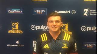 Bryn Gatland - First Look In A Highlanders Jersey!