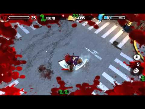 Zombie HQ chainsaw slaughter