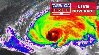 Hurricane Florence LIVE COVERAGE: Strengthening Before Landfall? - 9/13/18