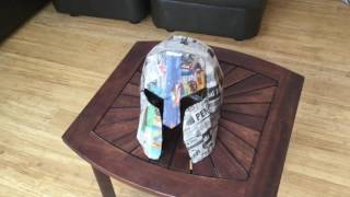 How to Make a Cardboard Spartan Helmet