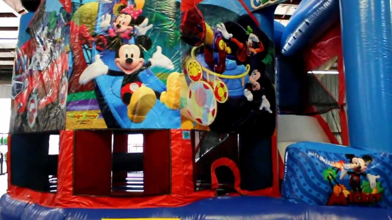 Mickey Mouse 5in1 Bounce House Combo Rental New Orleans