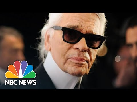 Iconic Fashion Designer Karl Lagerfeld Dies Aged 85 | NBC News