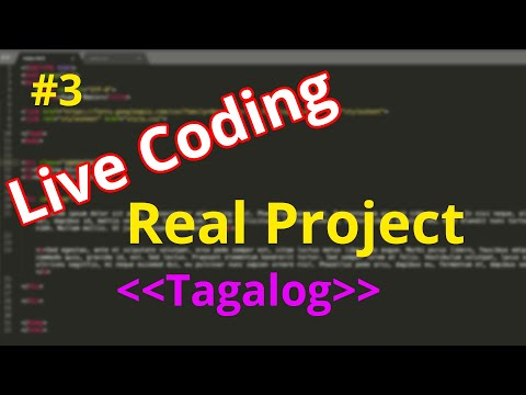 Tagalog HTML/CSS Tutorial - (Real Project!!  Coding In 30 Minutes)