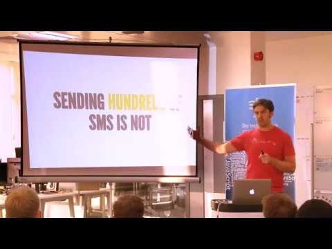 Phil from Twilio, talks API