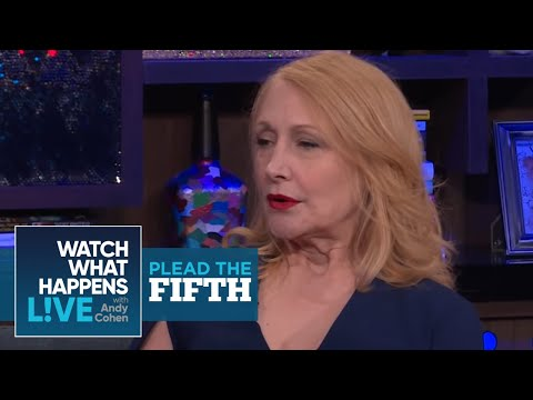 Patricia Clarkson Wasn't Surprised By Kevin Spacey  Plead The Fifth  WWHL
