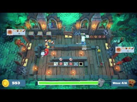 Horde 8 (zero damage) - Night of the Hangry Horde (DLC) - Overcooked 2 |