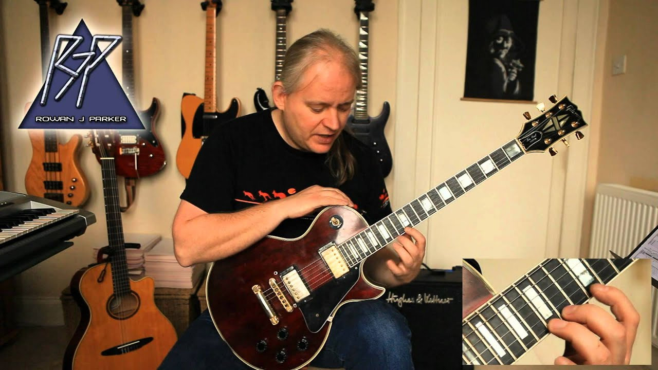 Allan Holdsworth Allan Holdsworth Style Extreme Legato Lesson Part 1 Youtube