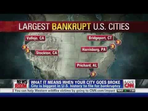Does China own my city? US Cities Going Bankrupt
