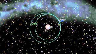 地球出発から小惑星リュウグウ到着までの「はやぶさ2」の動きを、天文ソ...