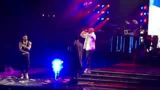 Download Usher Brings Out Chris Brown and August Alsina in L.A. Mp3 and Videos
