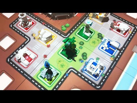 Augmented Reality City Construction Game at LEGO House