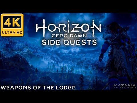 Horizon Zero Dawn Very Hard Side Quest Walkthrough | Weapons of the Lodge