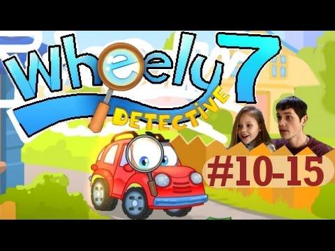 Игра Вилли 7 Детектив прохождение в виде мультика про машинку Уровень 10-15