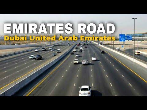 Dubai Driving Tour   Jebel Ali to Rashidiya via Emirates Road   Dubai UAE