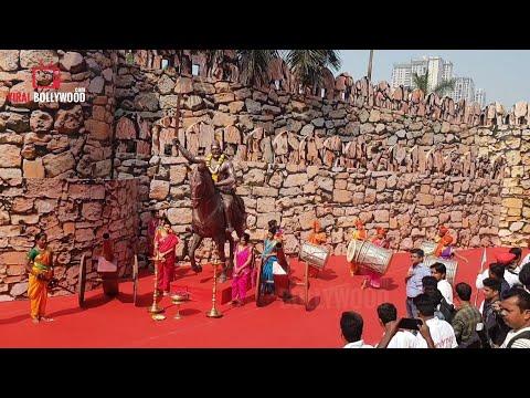 Manikarnika Grand Trailer Launch Setup | Huge Setup | Wadala Imax