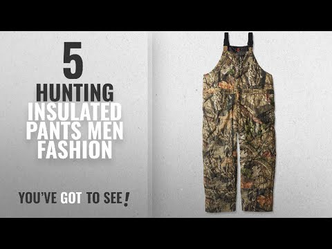 Top 10 Hunting Insulated Pants [Men Fashion Winter 2018 ]: Walls Men's Insulated Bib, Mossy Oak