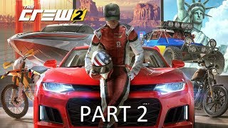 THE CREW 2 Walkthrough Gameplay Part 2 - OFFROAD RACES (PS4 Pro)