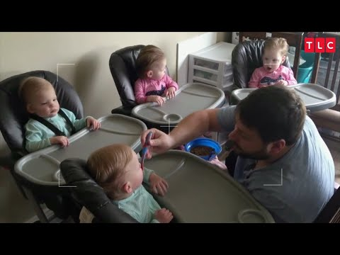See What Life Is Like In The Gardner House As Their Quadruplets Grow Up!