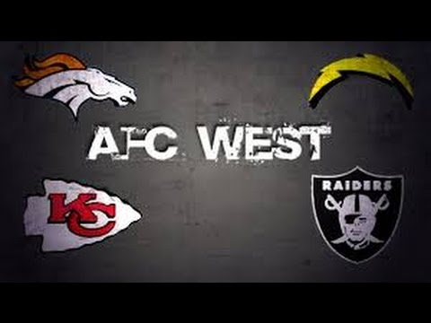 Madden 17 Team Ratings Prediction (AFC West)