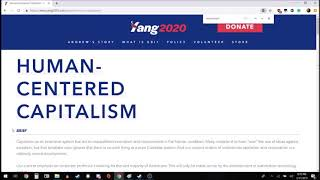 More thoughts on the Yang Gang 2020