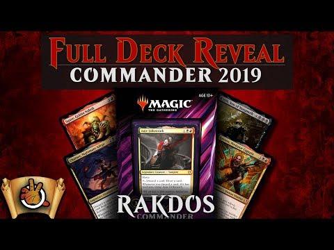 Commander 2019 – Merciless Rage Decklist