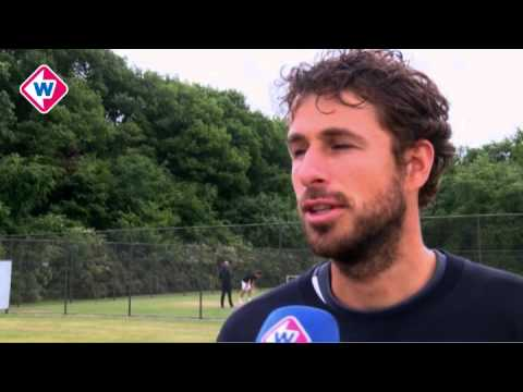 Interview met tennisser Robin Haase