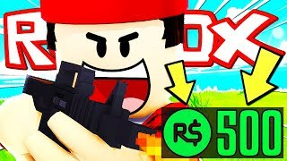 I SPENT 500 ROBUX ON THIS RARE WEAPON!! Roblox ITA (Phantom Forces)