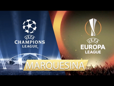 CHAMPIONS LEAGUE & EUROPA LEAGUE PARTIDOS DE MARQUESINA SBC