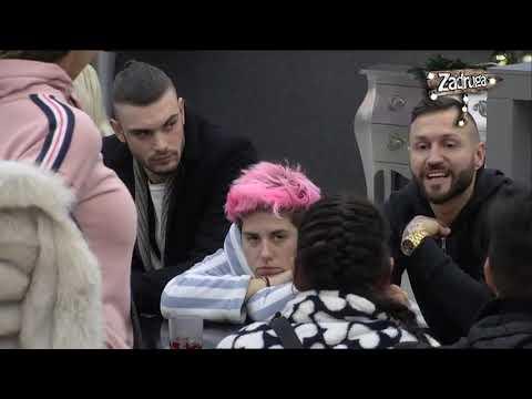 Zadruga 2 - Luna u suzama, pa se posvađala sa Sanjom zbog Matore - 05.01.2019.
