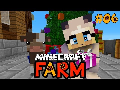 WIR FEIERN WEIHNACHTEN AUF DEM BAUERNHOF! ✿ Minecraft FARM #06 [Deutsch/HD]