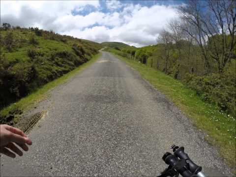 St. Jean Pied de Port to Roncesvalles time lapse May 2014