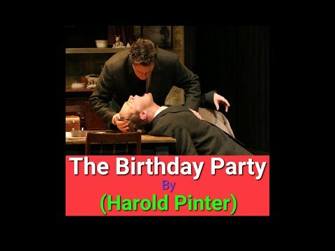 (पार्ट-1) The Birthday Party summary in hindi | Harold Pinter play | literary help
