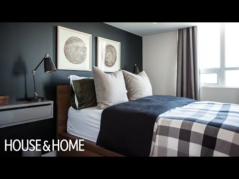 Interior Design — A Guy's Budget Bedroom Makeover In A Small