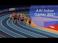Women's 1500m Heat 1 | AAI Indoor Games 2017 |